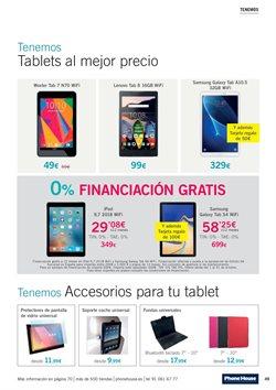 Ofertas de Lenovo  en el folleto de Phone House en Madrid