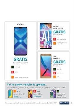 Ofertas de Huawei  en el folleto de Phone House en Madrid