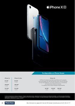 Ofertas de IPhone X  en el folleto de Phone House en León