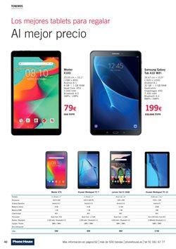 Ofertas de Tablet  en el folleto de Phone House en Ponferrada