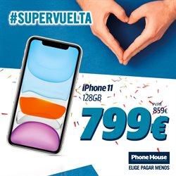 Ofertas de Informática y Electrónica en el catálogo de Phone House en Alicante ( Caduca mañana )