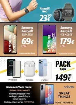 Ofertas de Samsung en el catálogo de Phone House ( Caduca mañana)
