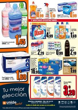 Ofertas de Pañales  en el folleto de Unide Supermercados en Ávila