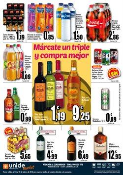 Ofertas de Coca-Cola  en el folleto de Unide Supermercados en Las Palmas de Gran Canaria