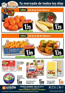 Ofertas de Naranjas  en el folleto de Unide Supermercados en León