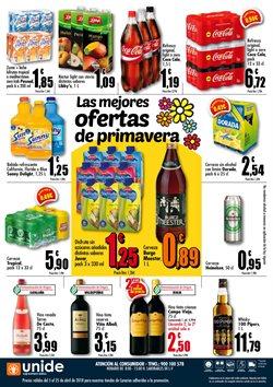 Ofertas de Cerveza  en el folleto de Unide Supermercados en La Orotava