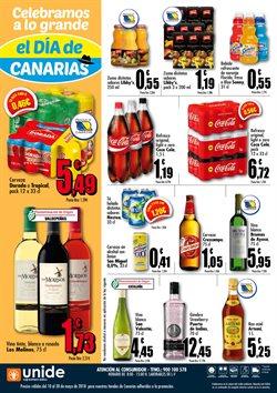 Ofertas de Vino tinto  en el folleto de Unide Supermercados en La Orotava