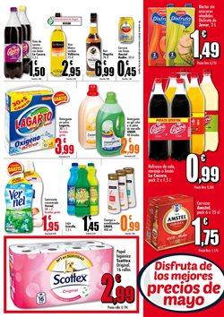 Ofertas de Amstel  en el folleto de Unide Supermercados en Madrid