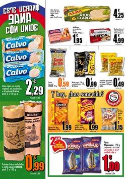Ofertas de Vino blanco  en el folleto de Unide Supermercados en Madrid