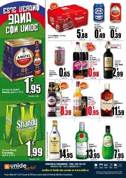 Ofertas de Cerveza  en el folleto de Unide Supermercados en Ávila