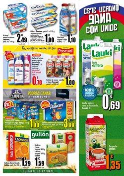 Ofertas de Leche  en el folleto de Unide Supermercados en Madrid