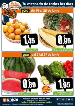 Ofertas de Vino tinto  en el folleto de Unide Supermercados en Murcia