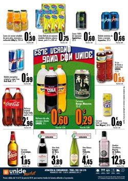 Ofertas de Cerveza  en el folleto de Unide Supermercados en Las Palmas de Gran Canaria