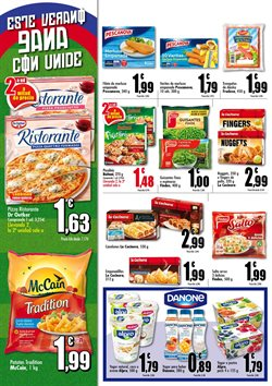 Ofertas de Pizza  en el folleto de Unide Supermercados en Madrid
