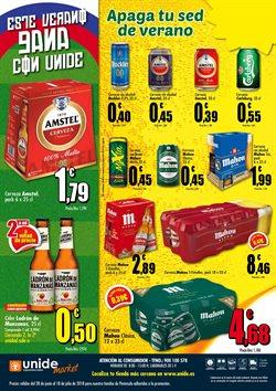 Ofertas de Mahou  en el folleto de Unide Supermercados en Madrid