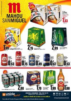Ofertas de Cruzcampo  en el folleto de Unide Supermercados en Alcalá de Henares