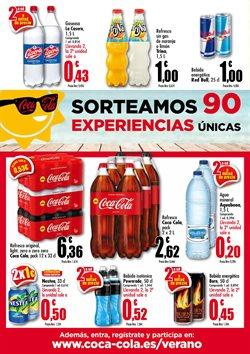 Ofertas de Coca-Cola  en el folleto de Unide Supermercados en Leganés