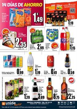 Ofertas de Vino tinto  en el folleto de Unide Supermercados en San Bartolomé de Tirajana
