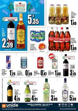 Ofertas de Coca-Cola  en el folleto de Unide Supermercados en San Cristobal de la Laguna (Tenerife)