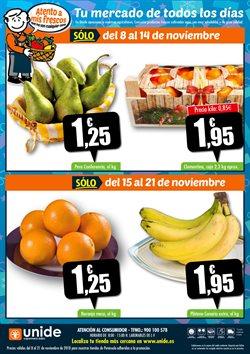 Ofertas de Naranjas  en el folleto de Unide Supermercados en Alcalá de Henares