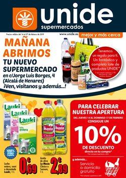 Ofertas de Leche  en el folleto de Unide Supermercados en Alcalá de Henares