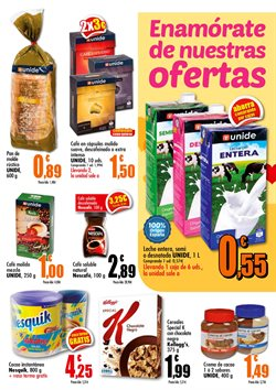 Ofertas de Kellogg's  en el folleto de Unide Supermercados en San Sebastián de los Reyes