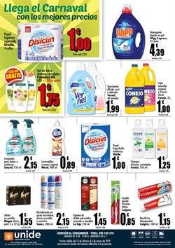 Ofertas de Desodorante en spray  en el folleto de Unide Supermercados en San Cristobal de la Laguna (Tenerife)