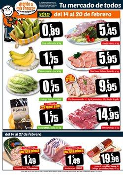 Ofertas de Platos precocinados  en el folleto de Unide Supermercados en Madrid