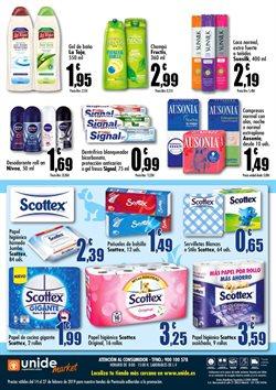 Ofertas de Compresas  en el folleto de Unide Supermercados en Madrid