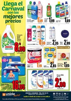 Ofertas de Pañales  en el folleto de Unide Supermercados en Madrid