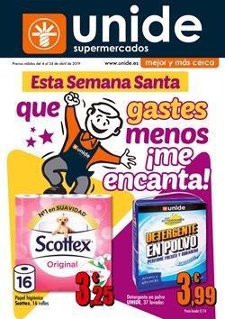 Ofertas de Unide Supermercados  en el folleto de La Ñora