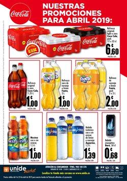 Ofertas de Refresco de cola  en el folleto de Unide Supermercados en Madrid