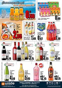 Ofertas de Refrescos  en el folleto de Unide Supermercados en San Cristobal de la Laguna (Tenerife)