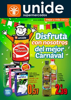 Cat谩logo Unide Supermercados ( 6 d铆as m谩s)