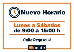 Catálogo Unide Supermercados en Madrid ( Caduca mañana )
