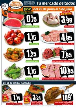 Ofertas de Nectarinas en Unide Supermercados
