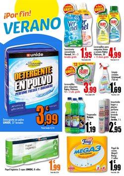 Ofertas de Detergente en polvo en Unide Supermercados