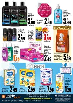 Ofertas de Gillette en Unide Supermercados