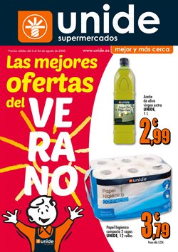 Cat谩logo Unide Supermercados ( 17 d铆as m谩s)