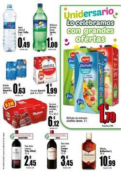 Ofertas de Amstel en Unide Supermercados