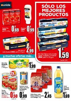 Ofertas de Bonduelle en Unide Supermercados