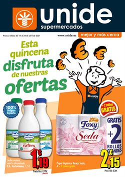 Catálogo Unide Supermercados ( 10 días más)
