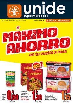 Catálogo Unide Supermercados ( Caduca mañana)