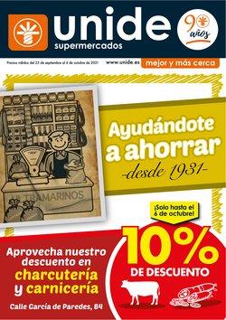 Ofertas de Hiper-Supermercados en el catálogo de Unide Supermercados ( 11 días más)