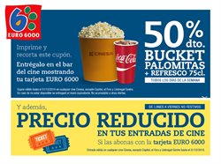 Ofertas de Cinesa  en el folleto de Madrid