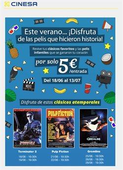 Ofertas de Cinesa  en el folleto de Madrid