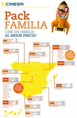 Ofertas de Ocio  en el folleto de Cinesa en Valencia