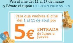 Ofertas de Cinesa  en el folleto de Mairena del Aljarafe