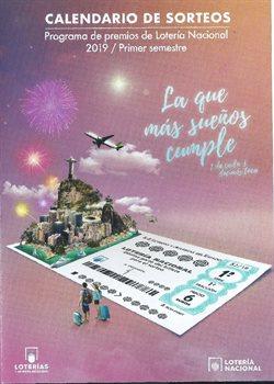 Ofertas de Ocio  en el folleto de Loterías y Apuestas del Estado en Madrid