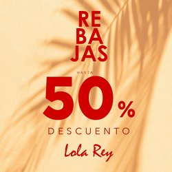 Ofertas de Lola Rey en el catálogo de Lola Rey ( Caduca mañana)
